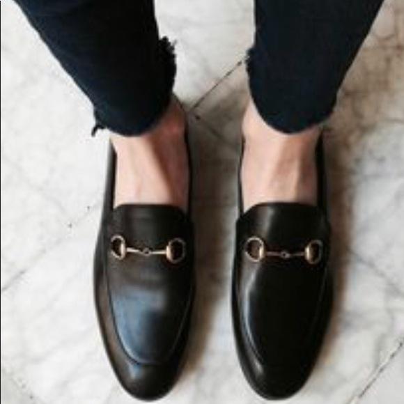 67137260d66 NIB Gucci Black Leather Jordaan Loafers 10.5